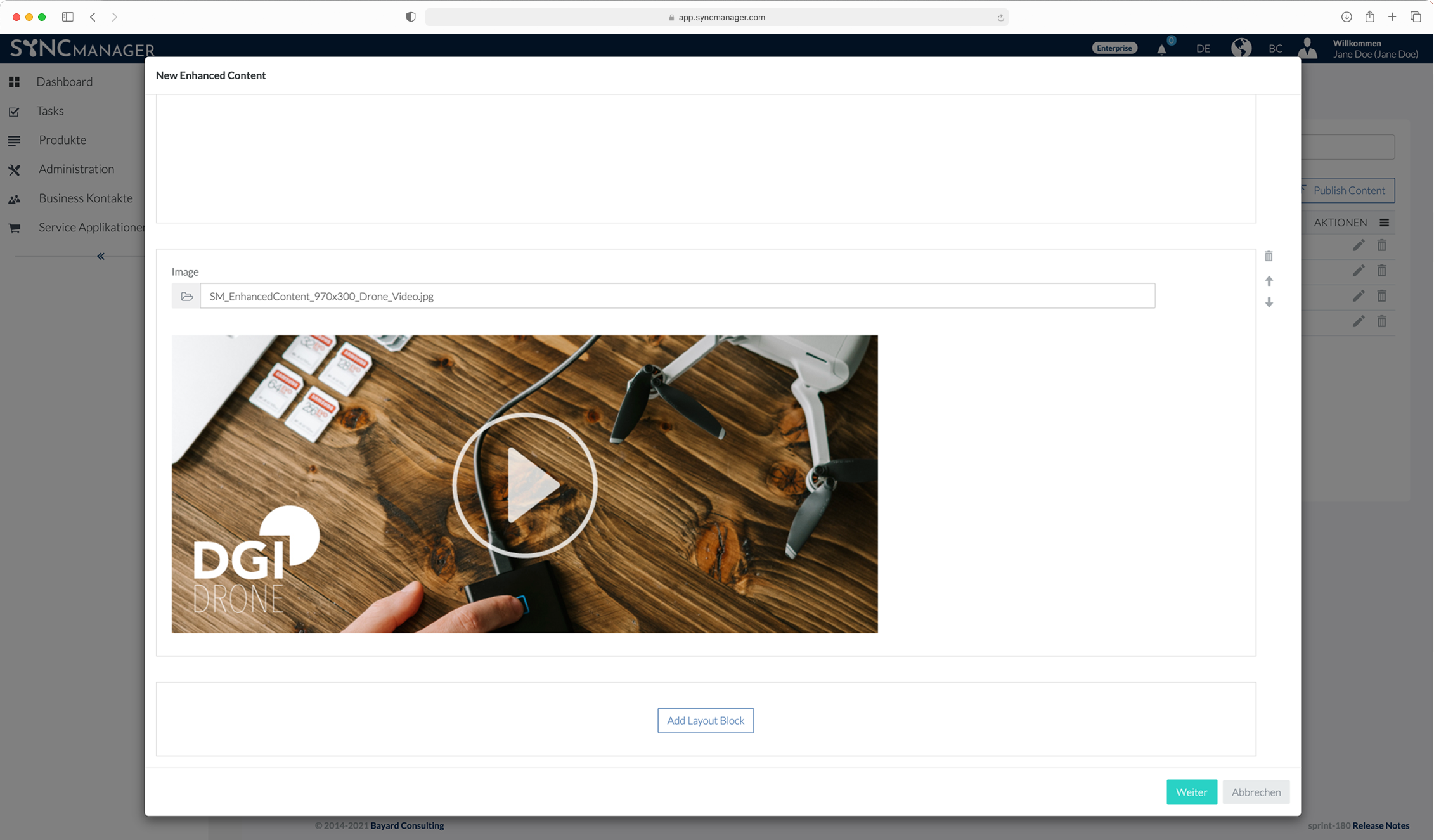 SyncManager – Produkt-Webshop-Detailseiten für Lieferanten – Enhanced Content – FMCG